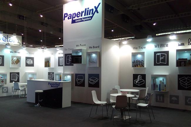 PaperlinX ha aprovechado Graphispag e Hispack para presentar sus novedades