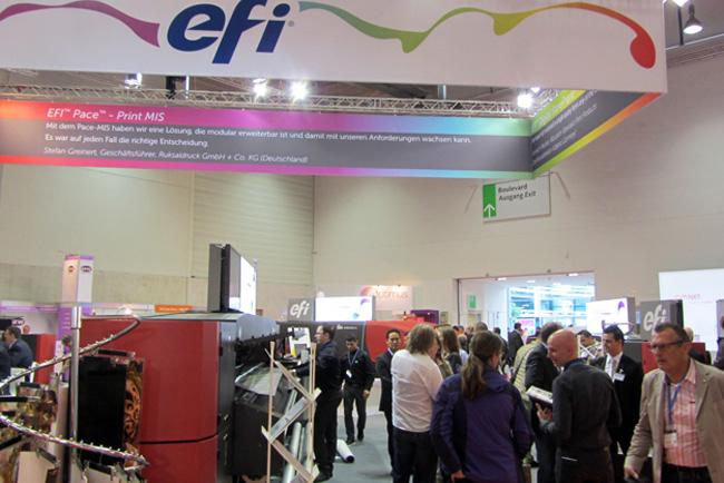 EFI exhibe sus innovaciones en Fespa 2015