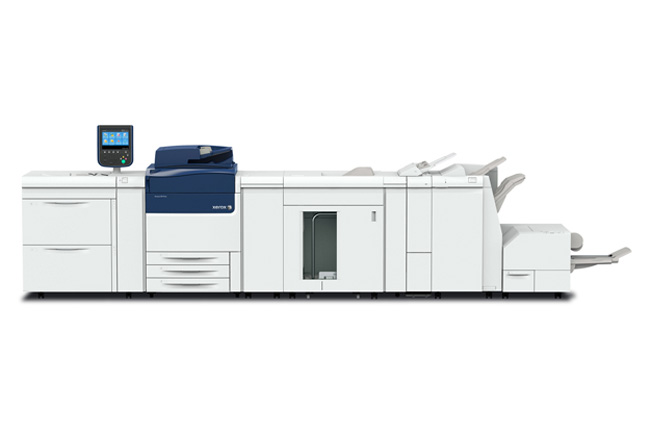Taller de impresión digital y presentación de la Xerox Versant 80