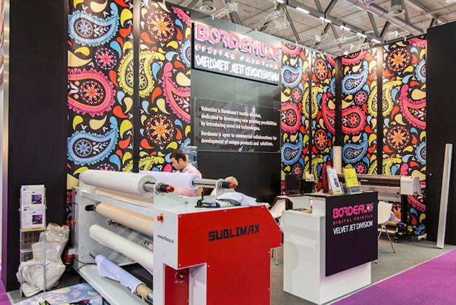 Gran interés en las tintas Bordeaux en FESPA 2015