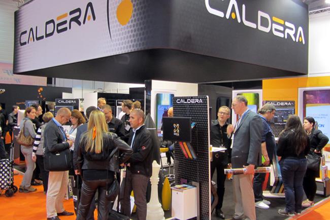 Caldera ofrece un portal al futuro en FESPA 2015