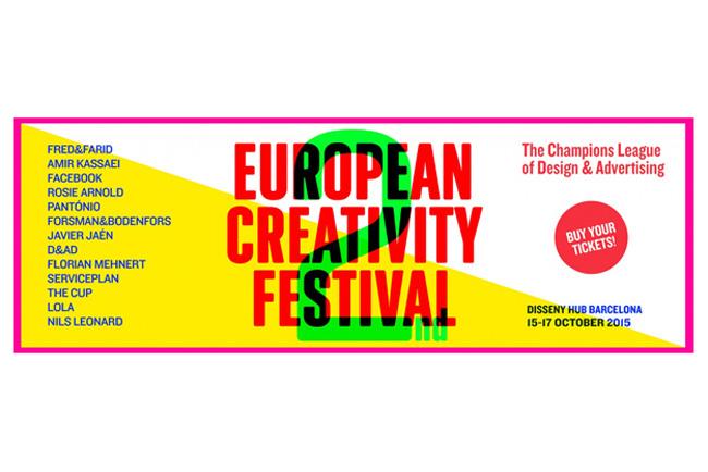 ADCE desvela el programa y participantes del 2nd European Creativity Festival de Barcelona