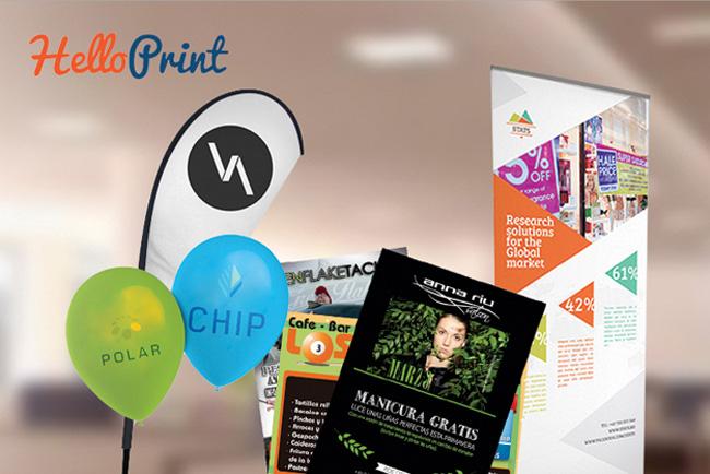 Helloprint amplía su gama de productos en sus dos portales, helloprint.es y helloprint PRO con precios todavía más bajos