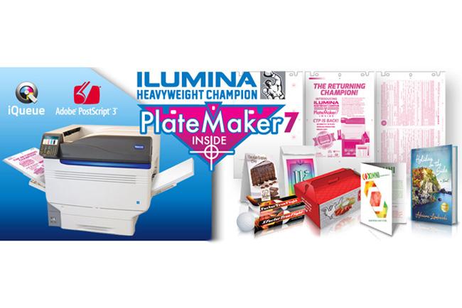 Nueva impresora digital Xante Ilumina HWC con grabación de planchas Platemaker
