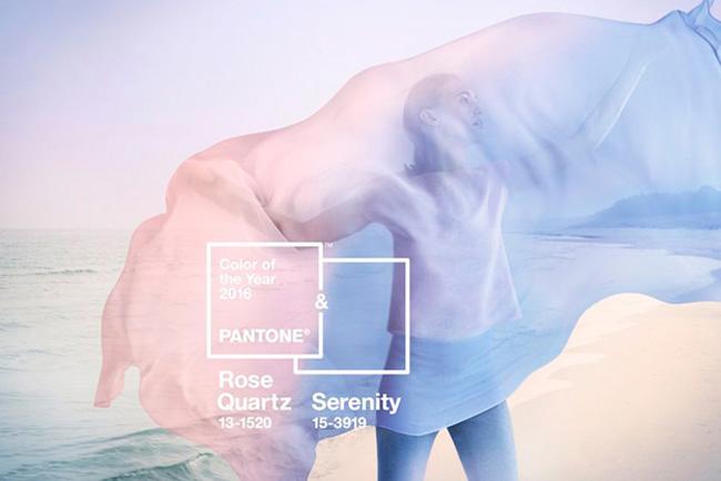 El 'Rosazul Sereno', color Pantone para el año 2016