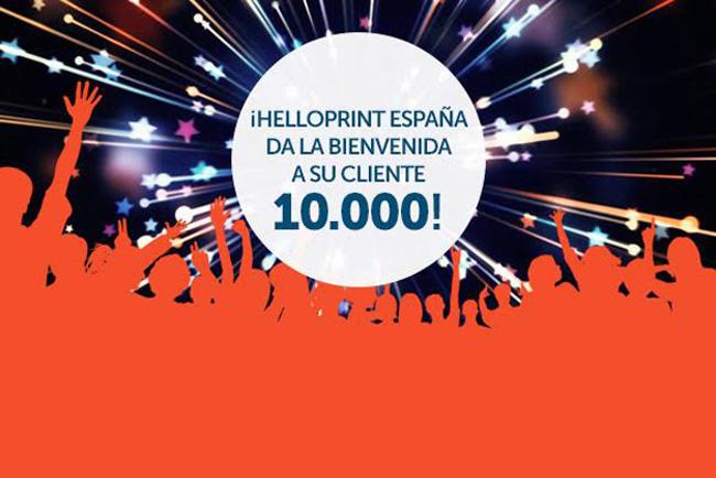 Helloprint España alcanza los 10.000 clientes durante su primer año de actividad