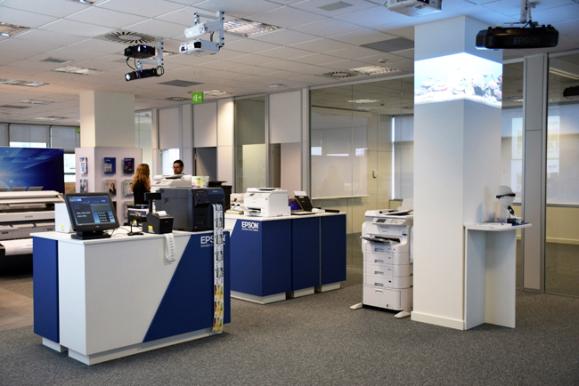 Epson inaugura oficinas en madrid for Oficina ser madrid