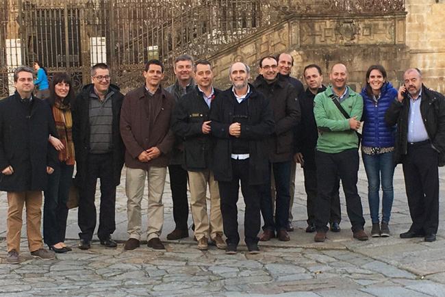 ImpriClub se reúne en Santiago de Compostela
