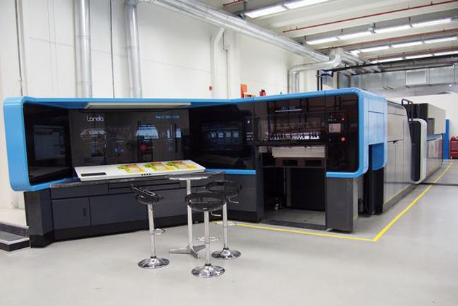 Landa nombra a Imagine! como sitio Beta en Norteamérica para la prensa S10 Nanographic Printing