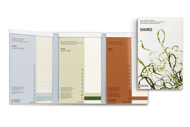 SHIRO la gama de papel más ecológica para consumidores exigentes