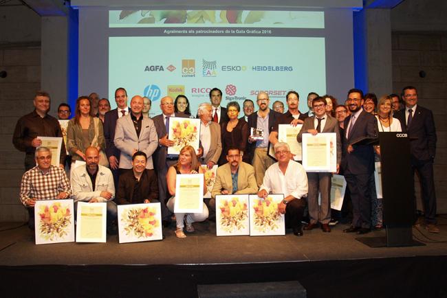 El 65º Concurso de Artes Gráficas premia los trabajos de una veintena de empresas en el acto central de la Gala Gráfica