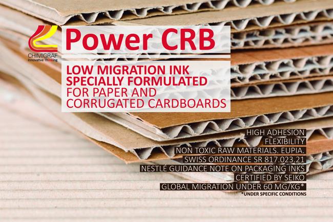 Chimigraf presenta la tinta POWER CRB en drupa 2016