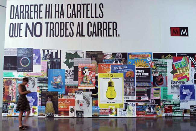Exposición 'Polster. El pulso del cartel de calle': del 29/06 al 28/08 en el Disseny Hub Barcelona