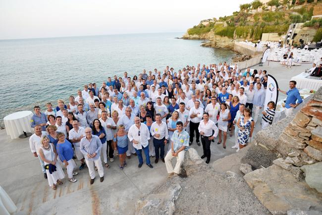 Exitosa convención de ImpriClub bajo el sol de Creta