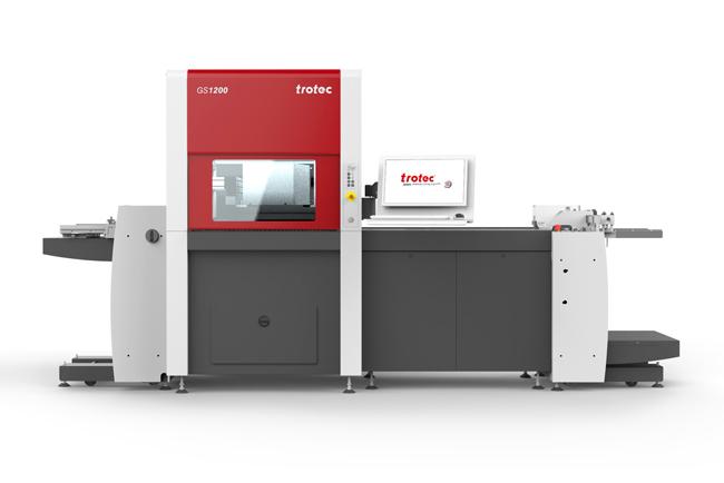 Trotec presenta su nuevo sistema láser para corte para grandes cantidades de papel: GS1200