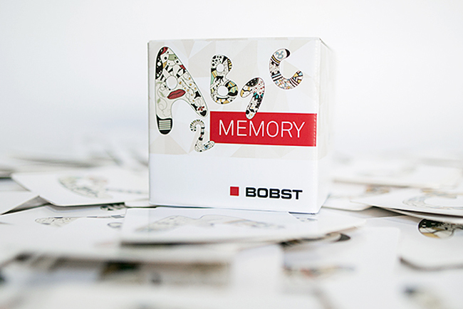 BOBST creó un atractivo y duradero regalo en drupa 2016