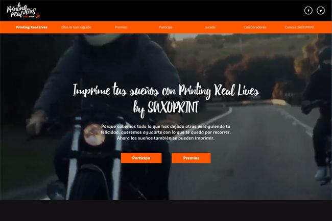 SAXOPRINT, una de las imprentas online líderes en Europa, busca tu historia