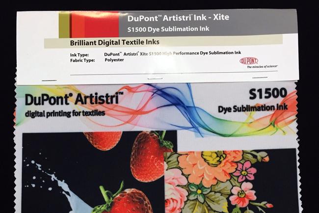 DuPont Advanced Printing lanza tintas para sublimación