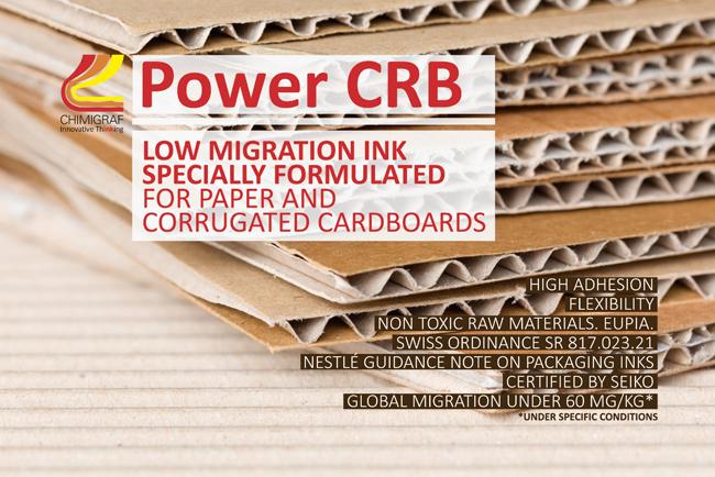 Chimigraf, innovando en drupa 2016 con la nueva tinta Power CRB