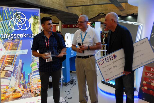 thyssenkrupp da a conocer el ganador del segundo concurso CREA+