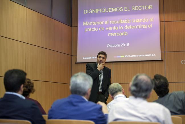 ASEIGRAF organizo un seminario sobre costes con el objetivo de dignificar el sector de la Industria Gráfica