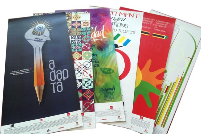 El taller de Serigrafía creativa de C!Print Madrid presentó un recorrido por el diseño gráfico del siglo XXI