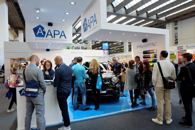 """Con APA crece el deseo del """"Made in Italy"""" en Viscom Frankfurt"""