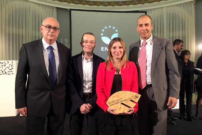 Comexi, galardonado en los Premios EMAS por su compromiso ambiental