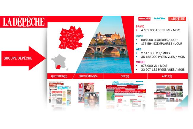 Grupo Dépêche du Midi centraliza e integra con MILENIUM las redacciones de sus seis diarios