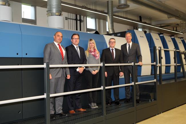 Flint Group Sheetfed firma acuerdo de cooperación técnica con KBA-Sheetfed