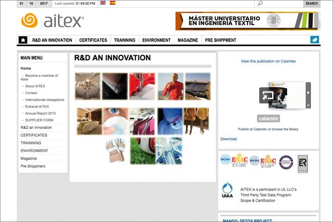 Aitex cuenta con Canon para renovar su parque de impresión y mejorar su productividad