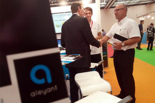 La tecnología más puntera de Aleyant se podrá ver en graphispag y Fespa