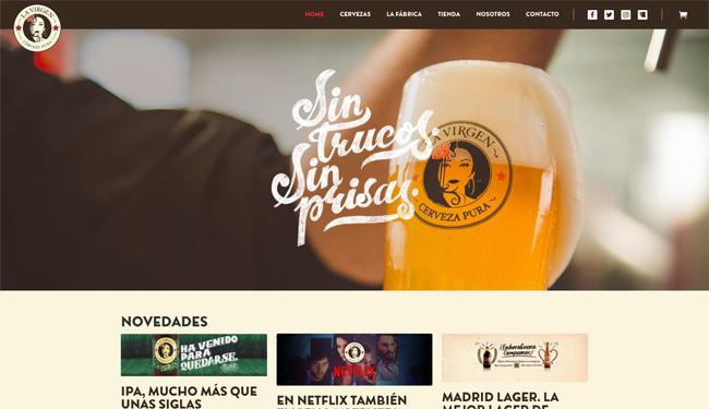 """Cerveza La Virgen, una de las """"mejores rubias de España"""" luce su pack de 6 botellines en una solución DS Smith"""