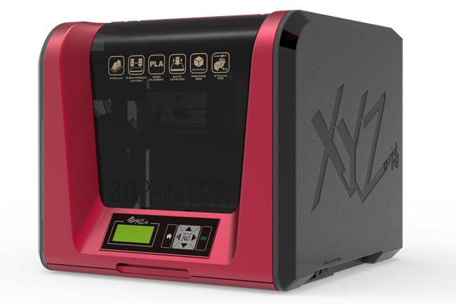 XYZprinting presenta la da Vinci Jr. 1.0 Pro,  una impresora 3D compacta
