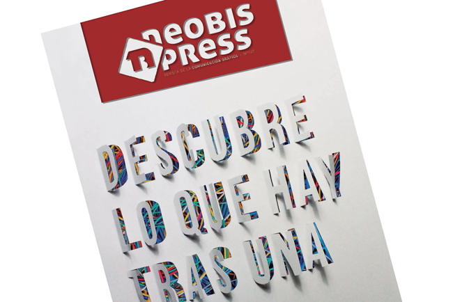 """Irene del Toro, ganadora del concurso neobis """"Diseña la portada de la Comunicación Gráfica"""""""