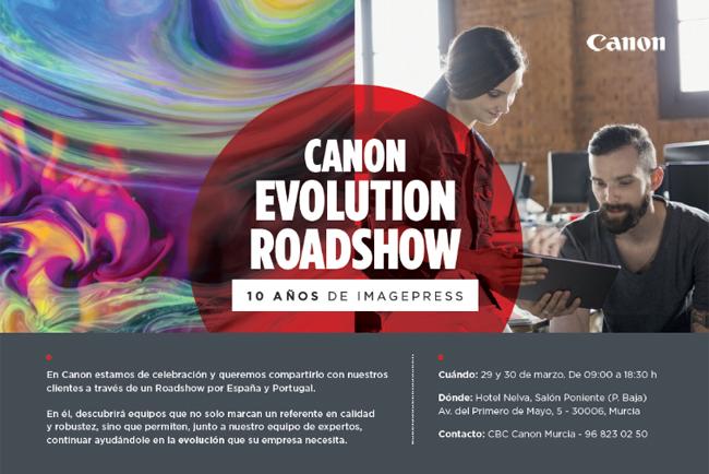 Canon inicia su Evolution Roadshow para celebrar los 10 años de la gama imagePRESS