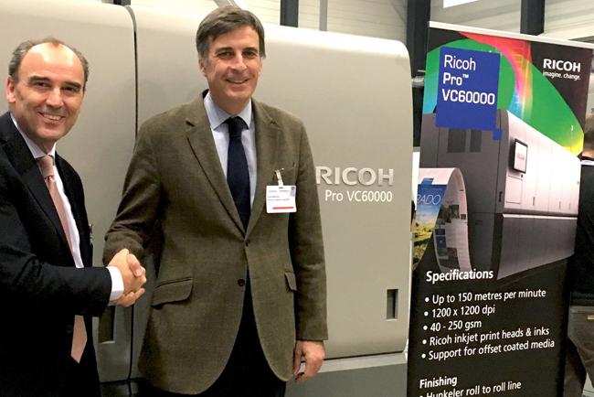 Servinform adquiere una Ricoh PRO VC60000 para alcanzar nuevos mercados