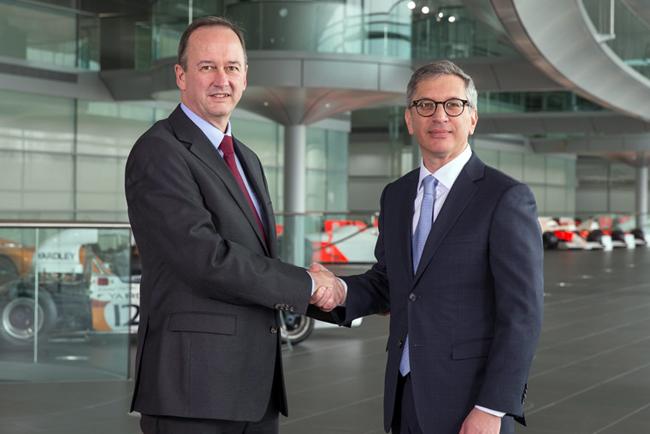 McLaren Racing firma un nuevo acuerdo de colaboración con Stratasys para llevar la fabricación aditiva a la F1