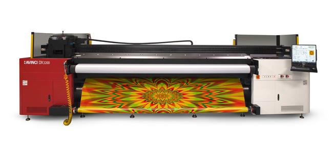 Agfa Graphics presenta la nueva impresora Avinci DX3200 para la impresión textil destinada a la señalización y decoración