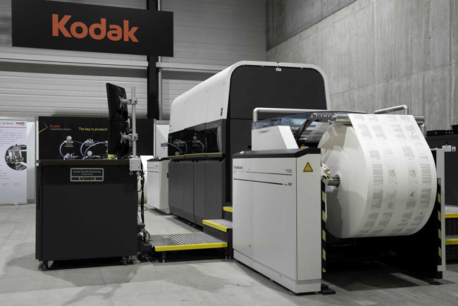 Kodak announces strategic decision to retain PROSPER inkjet business