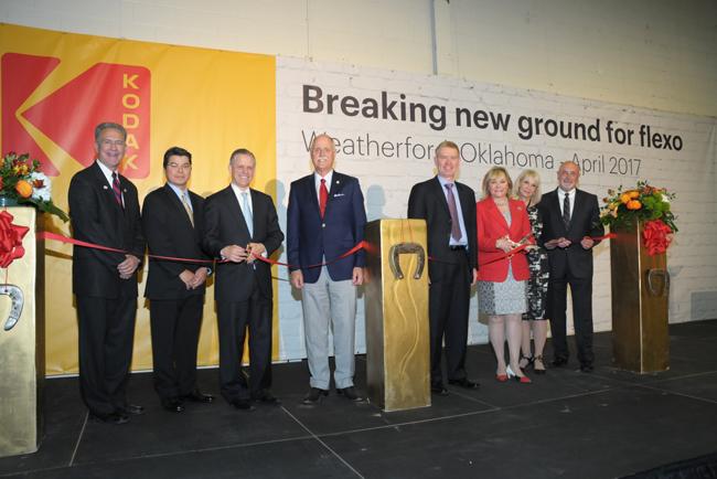 Kodak abre nuevo espacio para el crecimiento Flexo en Weatherford, Oklahoma (USA)