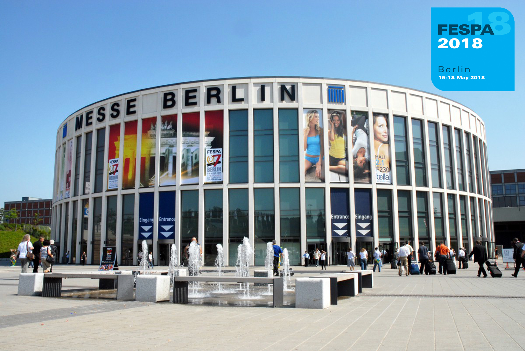 FESPA announces dates for 2018 Global Print Expo, Berlin, Germany