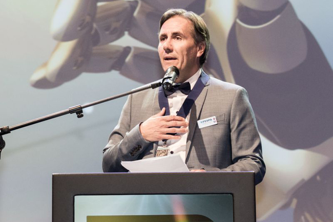 Christian Duyckaerts inaugurated as Fespa President