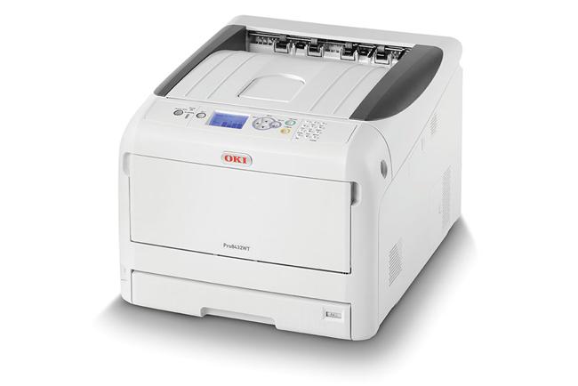 Nueva impresora OKI de tóner blanco con un sinfín de posibilidades comerciales