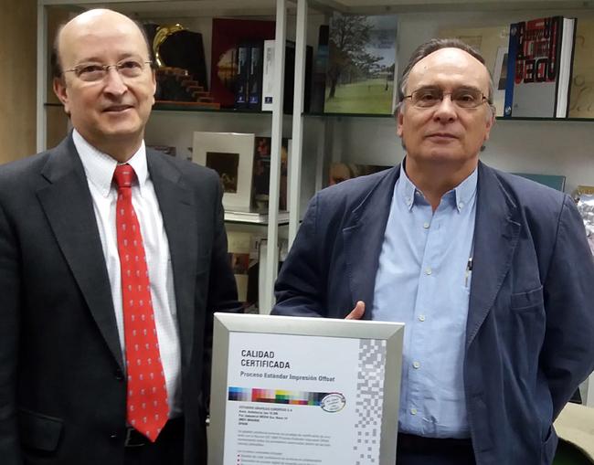 EGESA obtiene otro certificado Fogra con Cibergraf