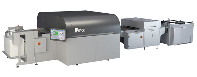 Inca Digital presenta una nueva impresora de inkjet de formato B1 en Fespa 2017