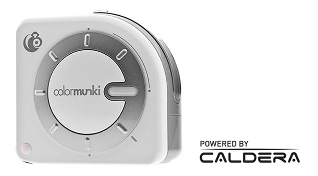 ColorMunki de X-Rite entra en acción con EasyMedia de Caldera