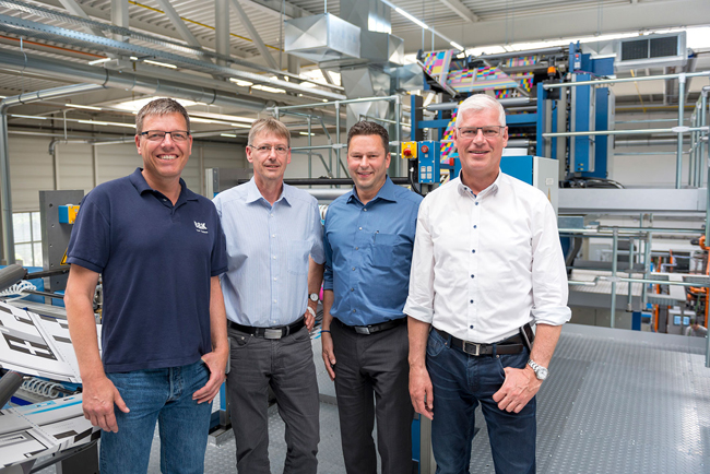 Success story continues between B&K Offsetdruck and KBA