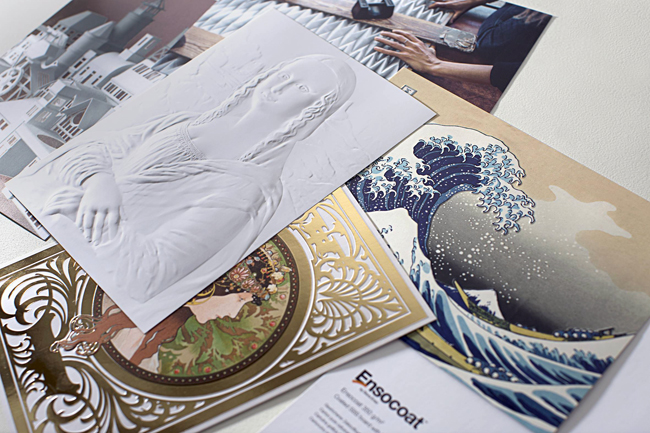Antalis comienza a distribuir la nueva blancura de Ensocoat: la marca Premium de cartulinas gráficas