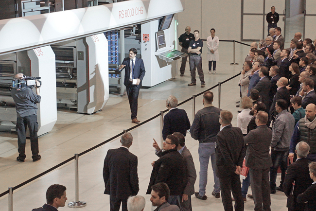 Bobst Italia makes an impact at gravure innovation event